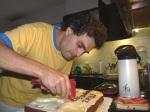 la torta - los preparativos