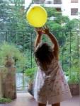 Mi globo amarillo - La decoración