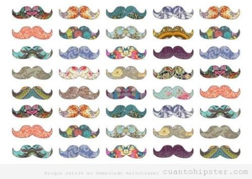 coleccion-moustache-hipster-colores