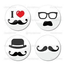 pin moustache