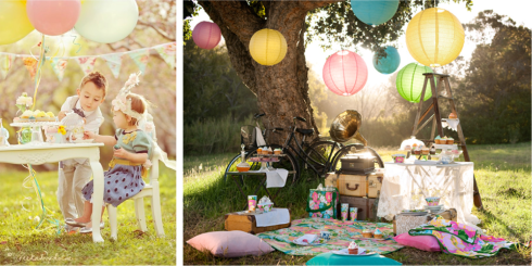 tea and picnic parties